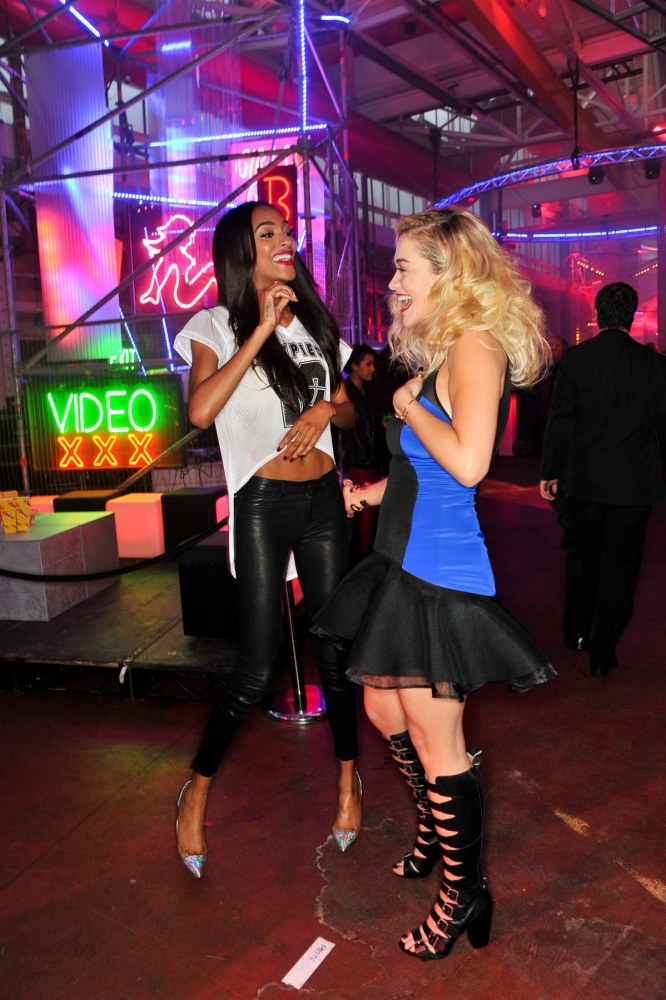 People & Events - Jourdan Dunn and Rita Ora