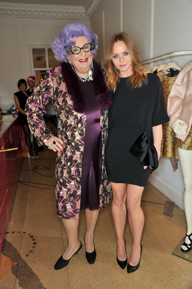 People & Events - Dame Edna Everage and Stella McCartney