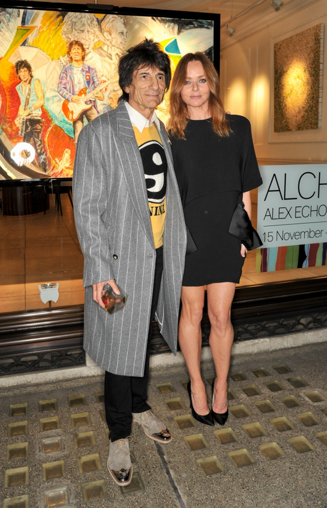 People & Events - Ronnie Wood and Stella McCartney