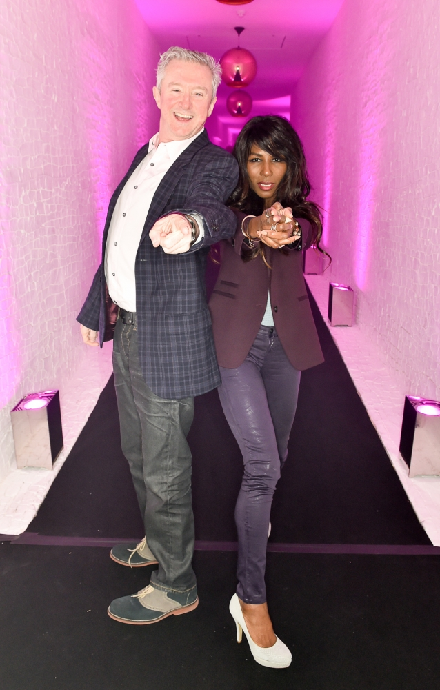 People & Events - Louis Walsh and Sinitta