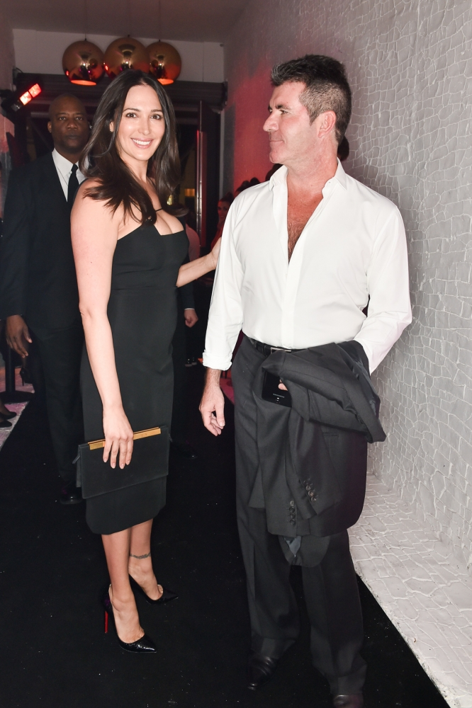 People & Events - Lauren Silverman and Simon Cowell