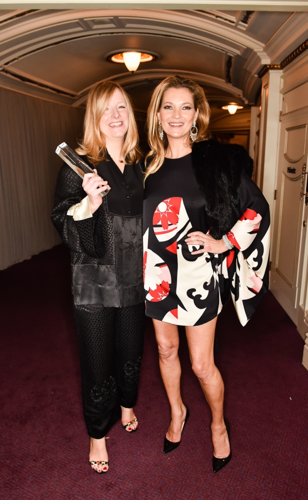 People & Events - Sarah Burton and Kate Moss