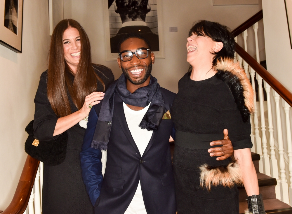 People & Events - Elizabeth Saltzman, Tinie Tempah, Charlotte Stockdale