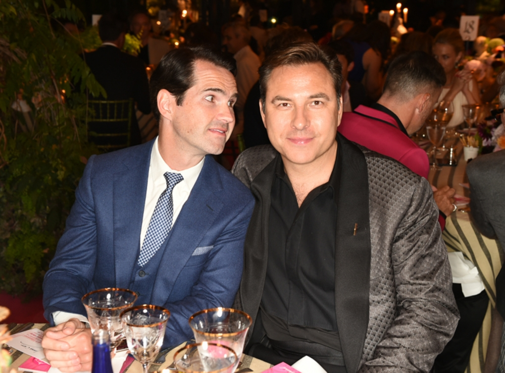 People & Events - Jimmy Carr and David Walliams