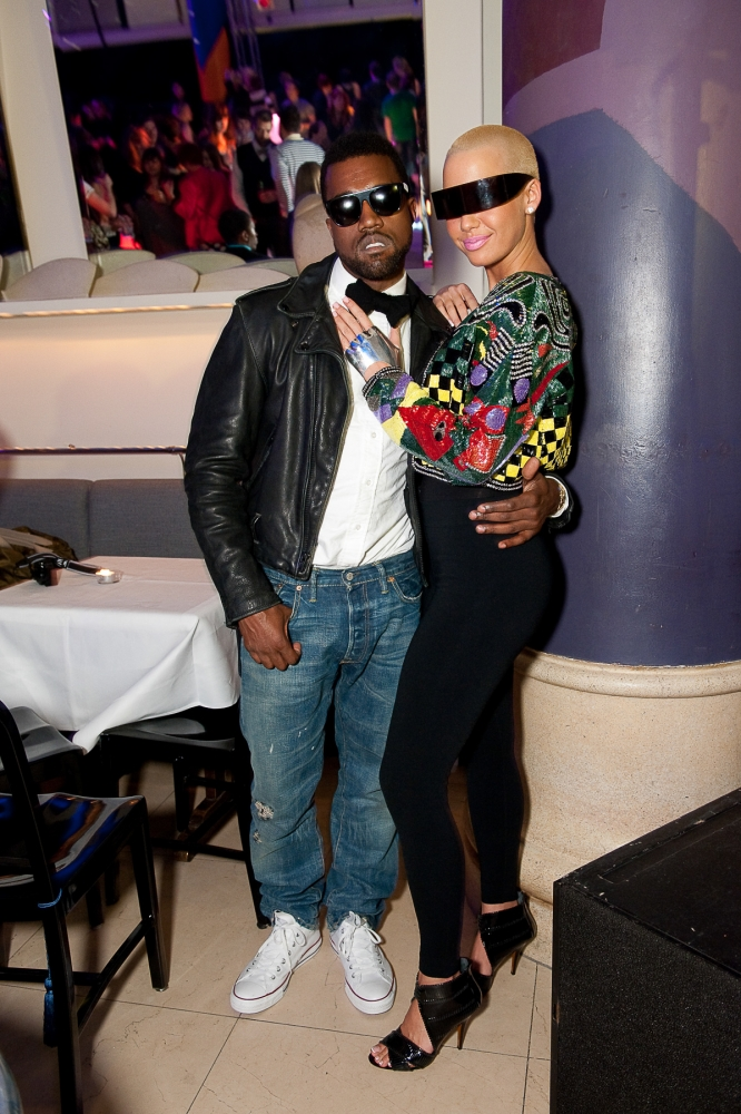 People & Events - P Diddy and Amber Rose