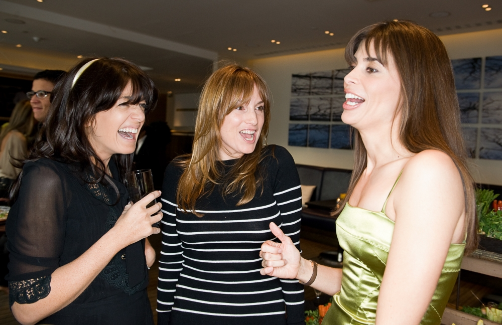 People & Events - Claudia Winkleman, Emily Oppenheimer and Lisa B