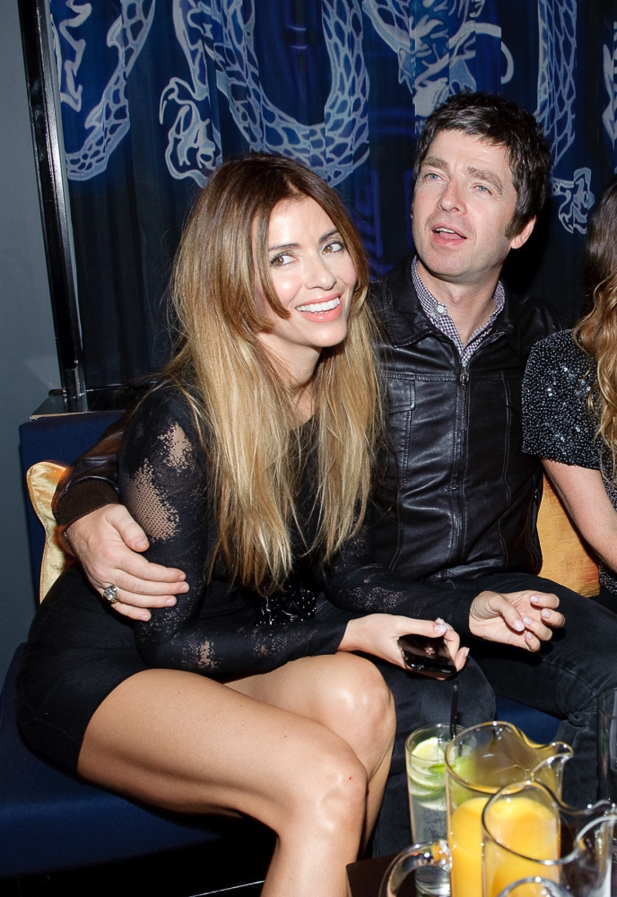 People & Events - Noel Gallagher and Sara McDonald