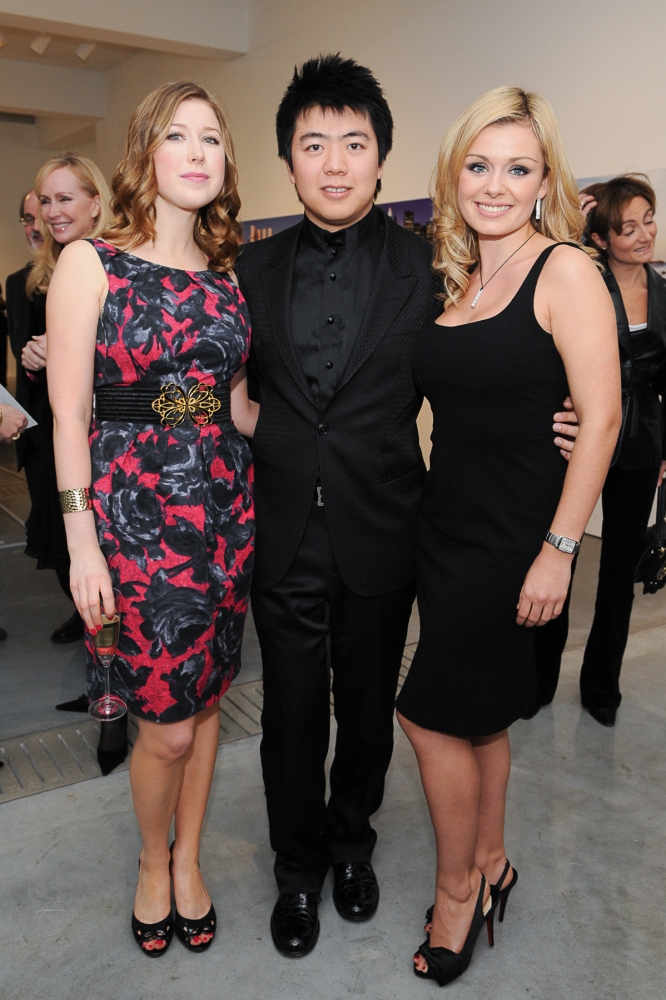 People & Events - Hayley Westenra, Lang Lang and Katherine Jenkins