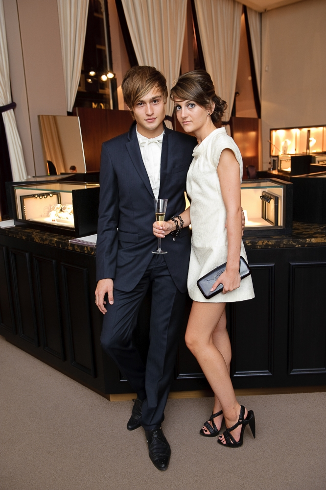 People & Events - Douglas Booth and Sian Sidaway