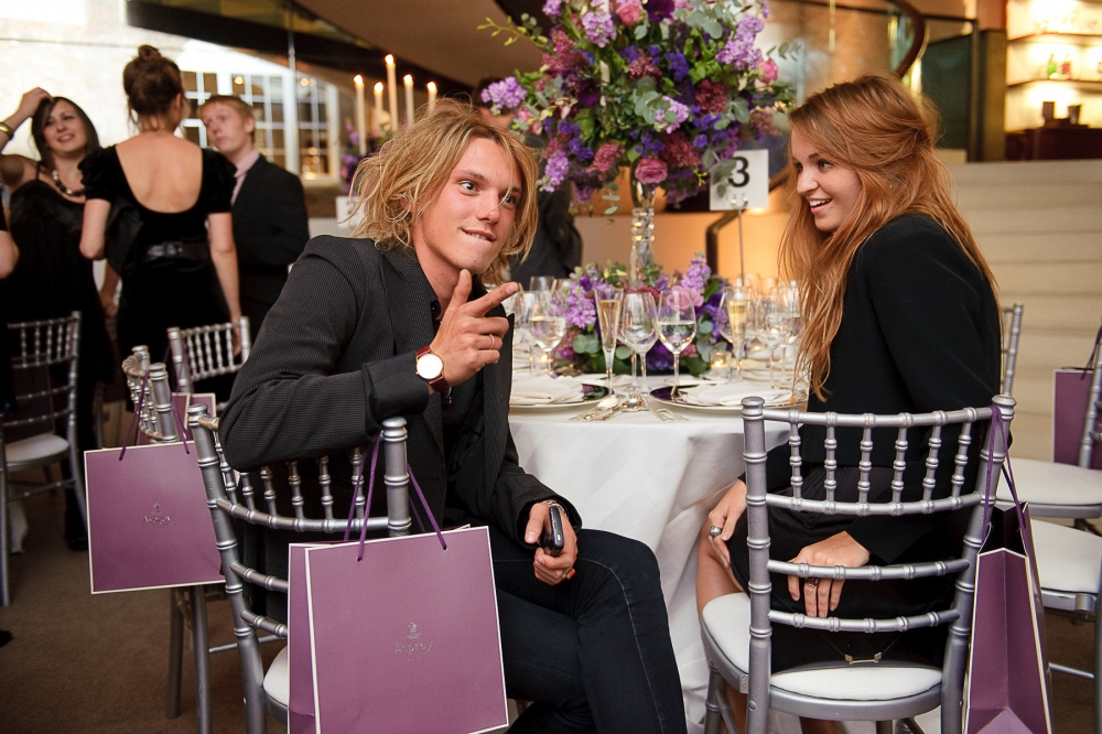 People & Events - Jamie Campbell-Bower and Zoe Graham