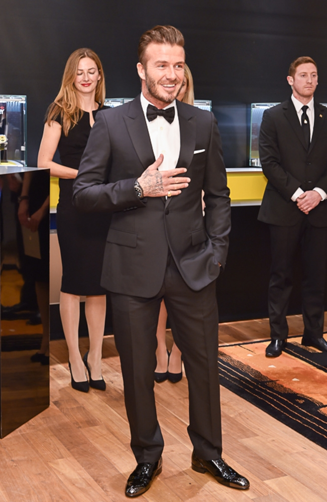 People & Events - David Beckham